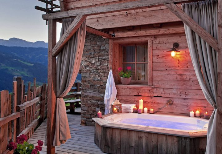 Urlaub im luxuriösen BERGHERZ Chalet in Österreich